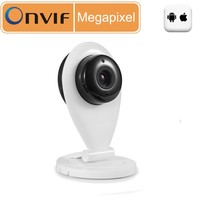 New product 1.0MP 1280*720P HD AP function p2p portable and rechargeable mini wireless wifi ip camera