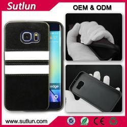 Super soft silicone material mobile phone leather case for Samsung Calaxy S3 S4 S5 mini i9300 i9500 i9600 S6 edge Note 4