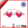 Walmart OEM customize cute heart shaped cold gel eye mask for sleeping