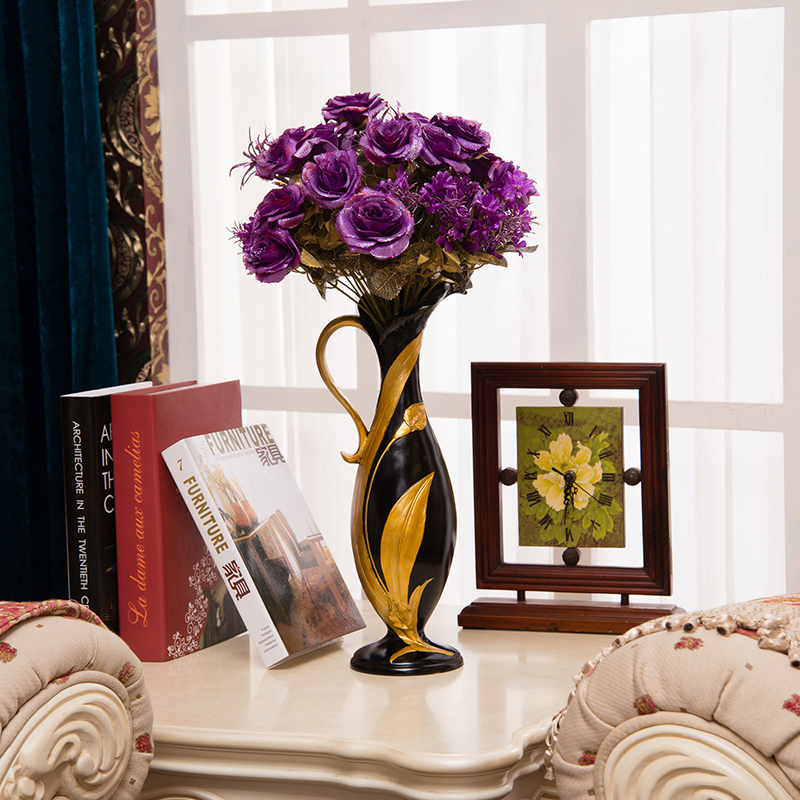 Latest Beautiful Resin Vase For Home Decorwedding Gift