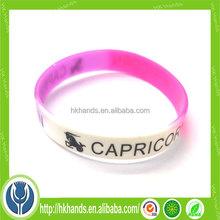 sports star name slogan customized promotional gift basketball wristband