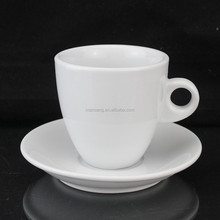 MS-1180S good quality cuppuccino Coffee porcelain cups & Saucers set