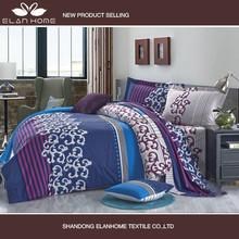 Good hand feeling home textile bedding set