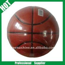 high quality PU lamunation promotion basketball