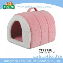 New soft plush warm dog house factory