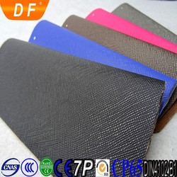 Toothpick Grain Semi PU leather materials for bags