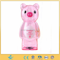 novelty large plastic clear coin banks customized cheap pig money saving bank