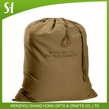 From China Customized Logo Branded Promotional Drawstring corn Bag
