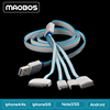 4 in 1 usb charger cable For Mobile phone iPhone 5s 5 4 4s Iphone6 Samsung Note 3
