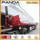 Panda hidráulico 25-40m3 traseira do caminhão dumper tipping semi reboque
