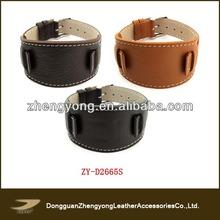 Nuevo diseño de reloj de cuero banda, <span class=keywords><strong>correa</strong></span> de cuero reloj banda