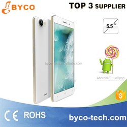 3G WCDMA Dual sim mobile phone Android 5.1 cheap 5.5 inch smart phone in China