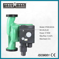 Manual shielded booster water pump