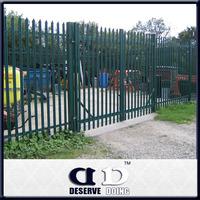 China manufacturer Galvanized steel palisade fence/gates