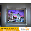 led crystal acrylic light frame