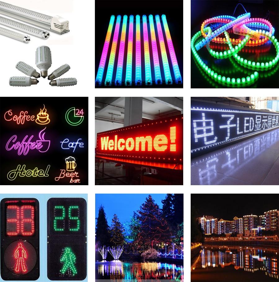 주도 다이오드 346( 3mm) 블루 타원형 주도 램프 무대 조명-램프 LED ...