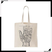 100% QC Eco-friendly promotional recycled shopping cotton bag