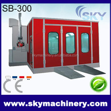 China Gold Suppier custom designed auto spray booth/automobile spray paint and drying booth(CE approved)