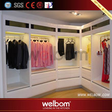 2014 high quality competitive price walking closet furniture