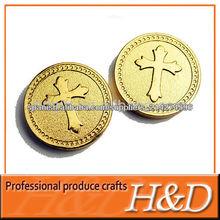Moneda simbólica en blanco para todos los diferentes tipos de máquina