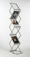 brochure display racks acrylic