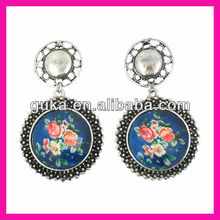 fashion earrings with basketball Wives Large hoop