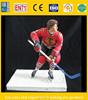 hockey player action figure, custom ice hockey figurine, oem plastic figure maker