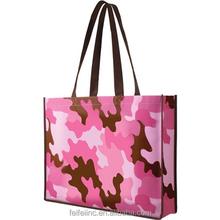 Full color printing reusable laminated tote bag,tote bag women design