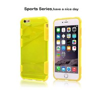 Wholesale OEM Combo Sports Series Case For Iphone 6 plus,For Apple 6 Case