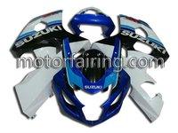 Bodywork Fairing/body kits For suzuki motorcycle fairings GSXR600-750 04-05 k4 white/blue