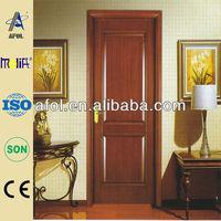 Afol new design solid wood hemlock exterior doors