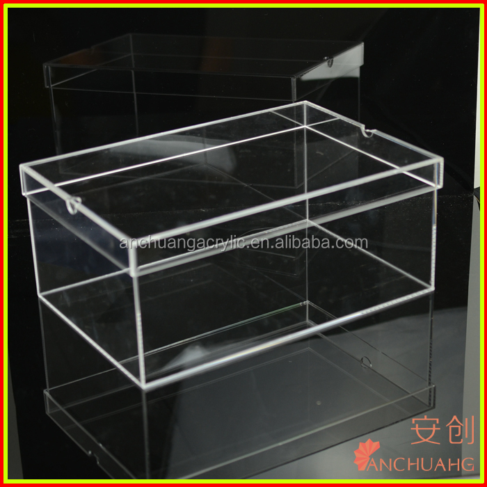 acrylic shoe box for sale buy clear shoe box custom shoe box nike shoes box product on. Black Bedroom Furniture Sets. Home Design Ideas