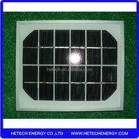 6 volt small solar panel 2 watts import from China