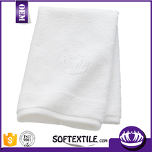 Cheap wholesale bath room 100% cotton plain white hand towel