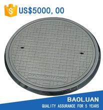 Baoluan brand polymer water meter manhole cover en124 heavy duty