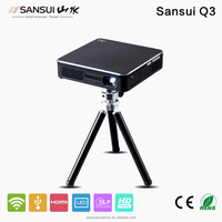 Iphone Projector android phone projector with WIFI airplay miracast HDMI USB 180 lumens mini projector
