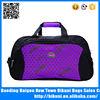 Purple fashion strong nylon fabric popular cheap duffel bag