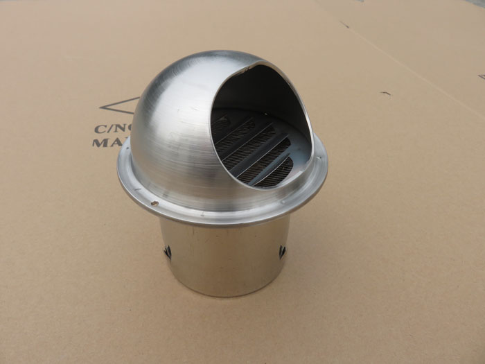 Wall Mount Air Ventilator : Wall ceiling mount round air vent cover outlet exhaust