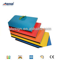 Alusign popular acm manufacturer decorative materials hot sell acm metal roof sandwich panel