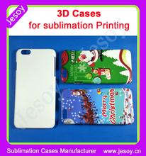 JESOY Cheap 3D Sublimation Blanks, 3D Cases for iPhone, 3D Sublimation Cases