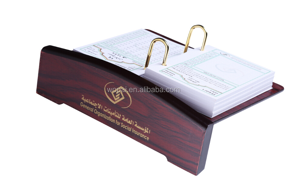 Arabia saudita agenda de escritorio de oficina de madera for Oficina western union alicante