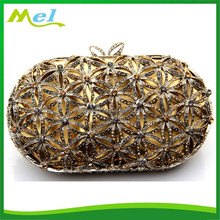 hard shell indian beaded clutch bags for women with stones