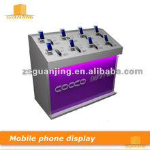 Lighted Cell Phone Retail Display Stand