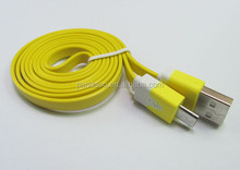 USB to Micro Data/Charging Flat Cable for Samsung for HTC for BlackBerry for Sony