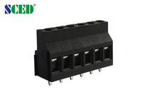 termin block connector Power Distribution PCB Terminal Blocks Screw Pitch 5.0mm 2 Pin - 24 Pin