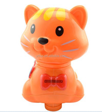 plastic toys voice cat with light