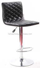 Black PU Leather High Back Bar Stools/Bistro Cafe Chair HC-3031-15