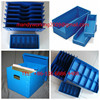 Polypropylene corrugated plastic box for packaging document