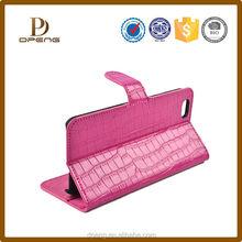 2015 Premium Genuine Leather Phone Case for iphone 6 plus, crocodile grain leather for apple iphone 6