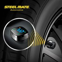 2015 Steelmate TP-76B car led Wireless DIY tpms external sensor 433.92mhz,tpms internal,mitutoyo dial gauges